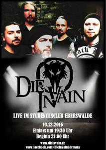 DIE IN VAIN - LIVE -10.12.2016